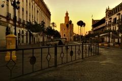 Sunrise in Sevilla