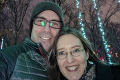 Our 16th Anniversary, Lights at Atlanta Botanical Garden