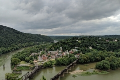 Harpers Ferry and Bolivar from Maryland Heights