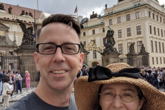 Us in Prague