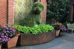 Topiary Pup at Atlanta Botanical Garden