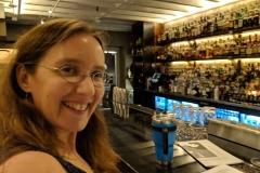 Daria at a Savannah speakeasy