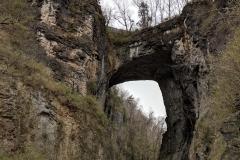 Natural Bridge in Virginia